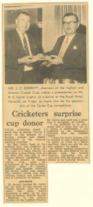 Norwich Mercury, 1st September 1972