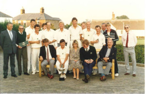 Carter Cup Winning Team 1984:  Ingham