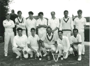 1990 Carter Cup Winning Team:  Dereham, Captain: Mark Ellis