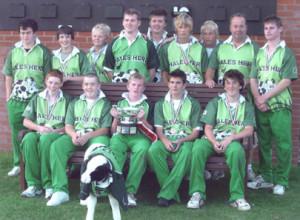 Hales Herd – Winners 2006 Carter Junior Cup